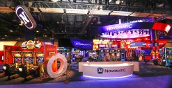 NOVOMATIC-Messestand G2E Las Vegas 2018