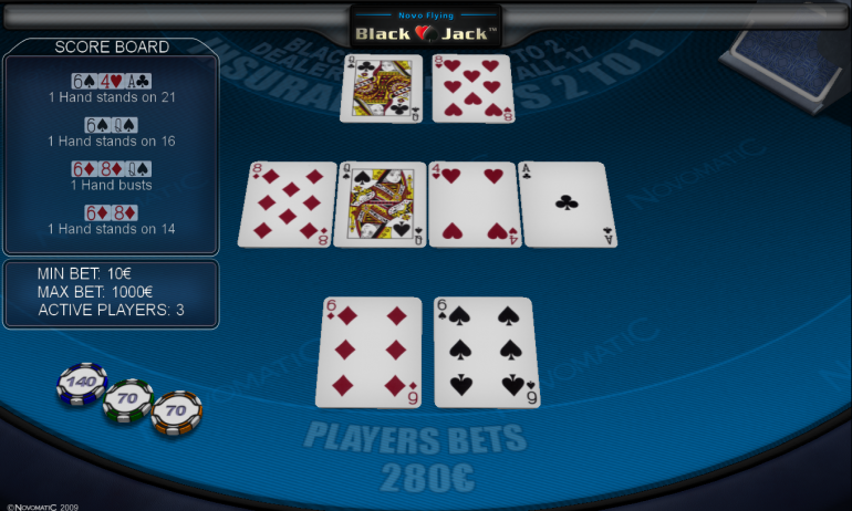 NOVOMATICElectronicBlackJack_Screenshot_1